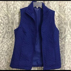 Royal Blue (Kim Rogers) vest